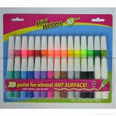 30只3D紡織手繪顏料