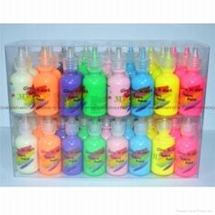 48色3D紡織手繪顏料
