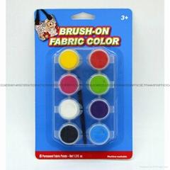 8色4.5毫升筆畫紡織手繪顏料