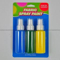 3色60毫升可噴瓶裝普通紡織手繪顏料