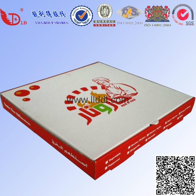 10'-18' pizza boxes custom logo printing 4