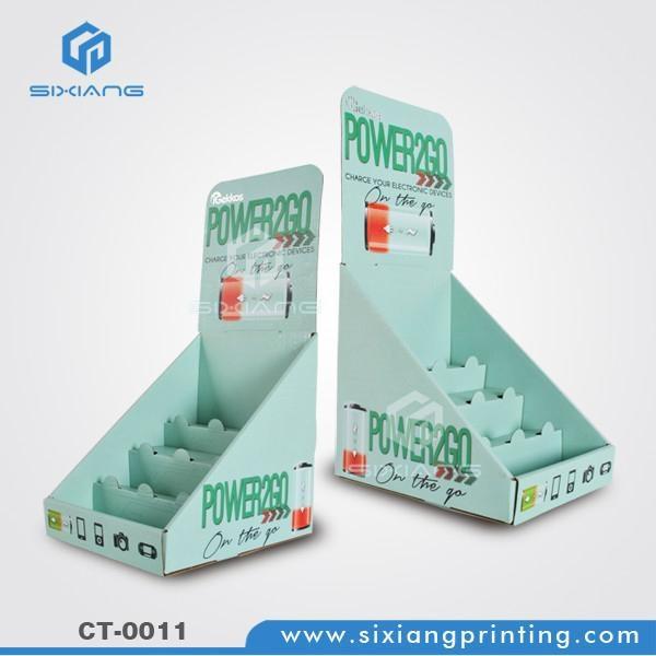 Eye-Catching Counter Battery Cardboard Display 1