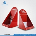 E paper module counter display stand for