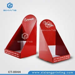 E paper module counter display stand for balloon