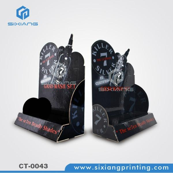 E paper module counter display stand for balloon 4