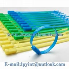 Bolt tight plastic seals for truck fixed plastic strip