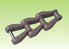 灰色 刮板機耐腐蝕塑料鏈條