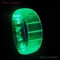 sound activated led flashing bracelet