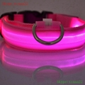 retractable dog pet leash with led light