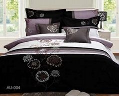 100% Cotton Bedding Set with Duvet Cover and Bedspread