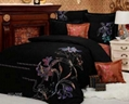 8PCS Bed Set with Comforter Cover Set