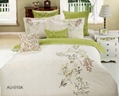 Bedding Set with Duvet Cover and fitted