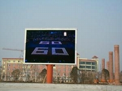 p16 outdoor full color led wall for advertising