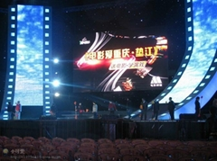 Indoor rental diecast aluminum led display screen