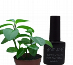 Environmental protection nail gel