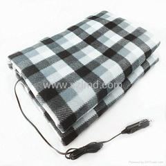 12V Travel Car Heated Warm Blanket