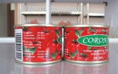 Tomato Paste with Canned Packing