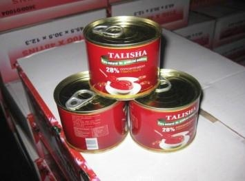 Tomato Paste with Canned Packing 3