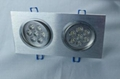 2*3W LED Recessed Down Ceiling Light
