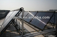 Westech pressurized system high temperatur solar collector
