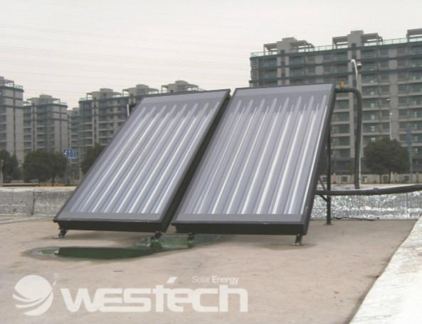 Westech Pipe Flat Panel Solar Collector Wt Tf 2