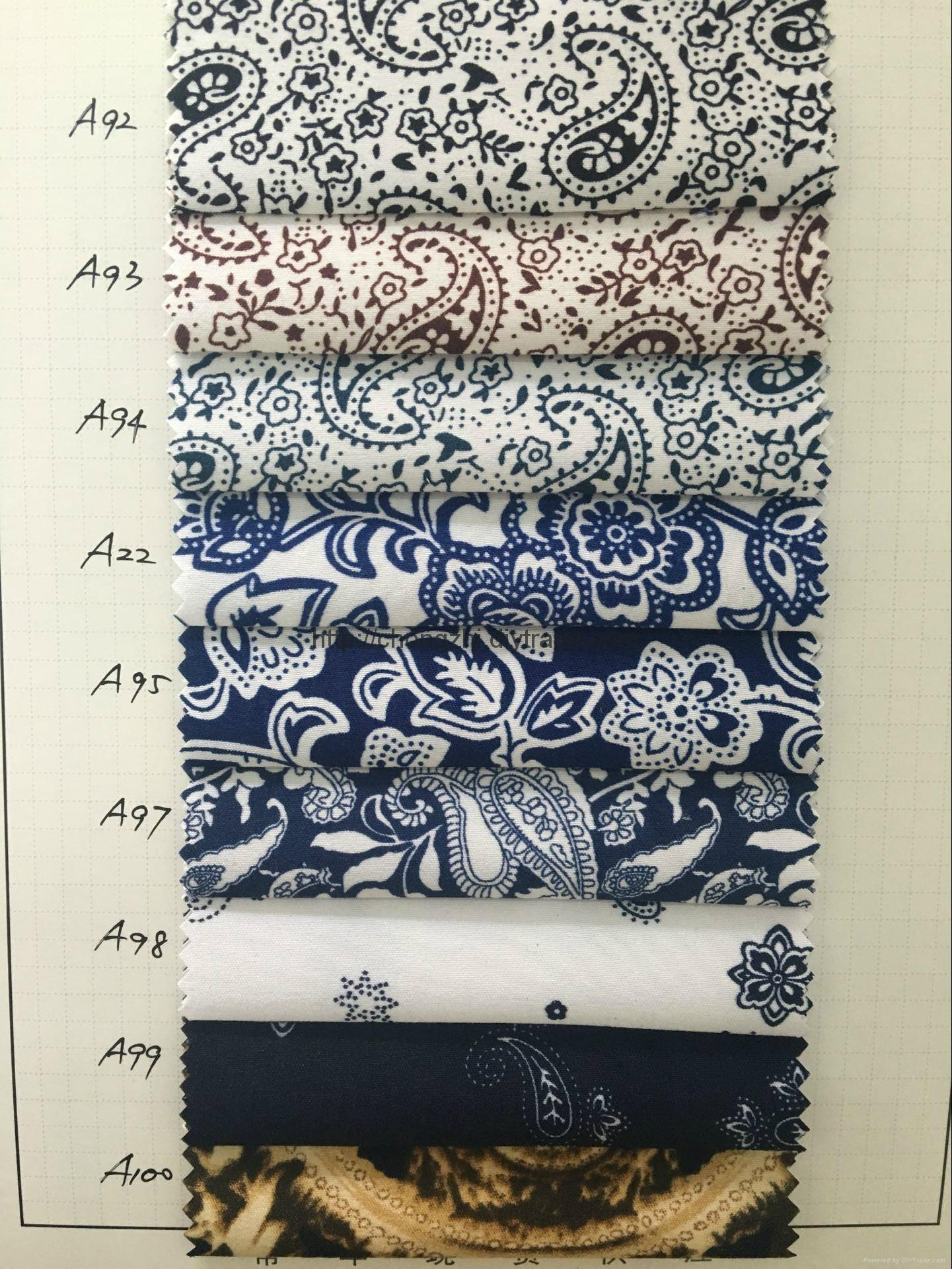 100%Polyester Printed fabric 4