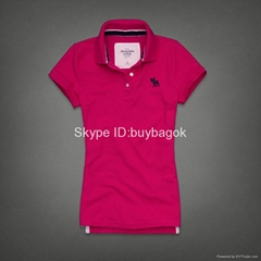 Cheap Abercrombie & Fitch womens t-shirts AF t-shirt polo t-shirts A F shirts