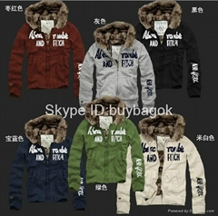 Wholesale Abercrombie & Fitch sweaters AF jacket  A F hoody A F mens jackets