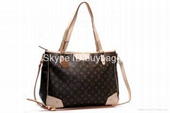 Wholesale true leather handbags lv handbags lv purs 1:1 quality