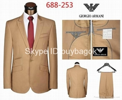 Wholesale men suits armani mens suits top quality size 46--56