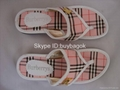 Wholesale cheap berberry Sandals womens slippers ladies Sandals AAA quality 5