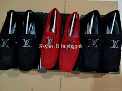Wholesale fashion Louis Vuitton mens leather shoes lv mens shoes top quality