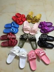New shoes puma X Fenty Bandana Slide PUMA BY RIHANNA LEADCAT FENTY puma shoes