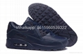 Wholesale classic Nike air max 90 nike shoes sneakers real leather 1:1 quality