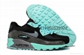 Wholesale classic Nike Air Max 90 nike sneakers black white good quality