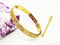 Wholesale jewelry Cartier earrings ring Cartier necklace bracelet 1:1 quality