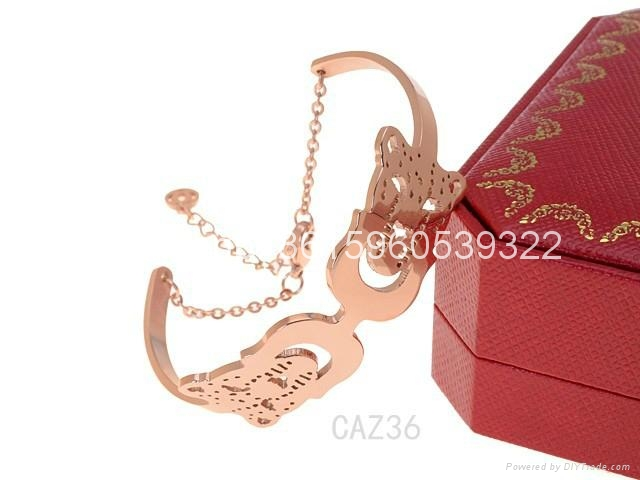 Wholesale jewelry Cartier earrings ring Cartier necklace bracelet 1:1 quality 19