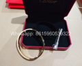 Wholesale jewelry Cartier earrings ring Cartier necklace bracelet 1:1 quality 2