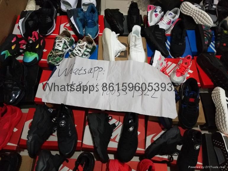 Nike air vapormax flyknit Boost 350 gucci Huarache Jordan basketball shoes 1:1  2