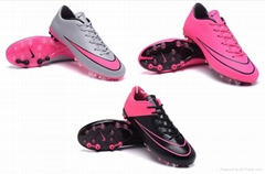 Wholesale CR7 Nike Mercurial Vapor Superfly IIII X AG soccer / football shoes