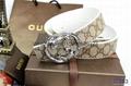 Wholesale belts Gucci belts leather make men belts top quality  8