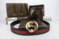 Wholesale belts Gucci belts leather make men belts top quality  9