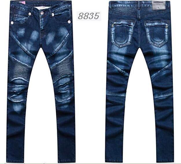 Wholesale True Religion jeans men jeans fashion pants TR trousers women jeans 9