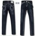 Wholesale True Religion jeans men jeans fashion pants TR trousers women jeans 12