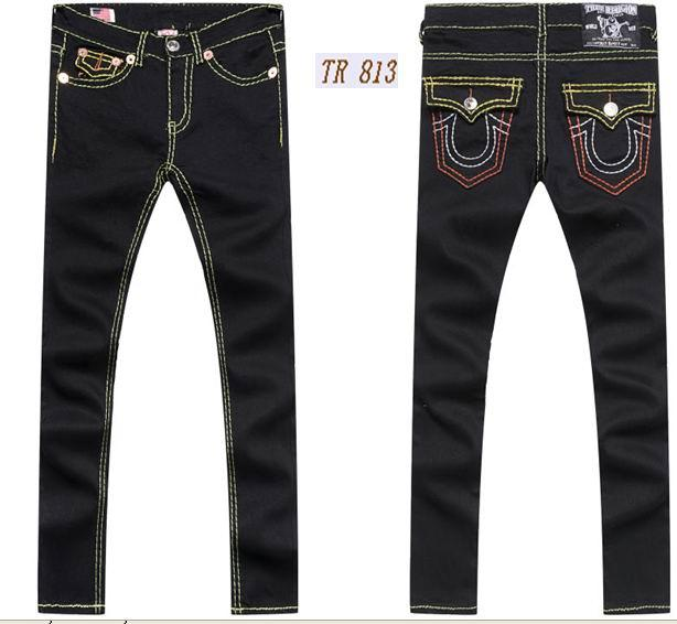 Wholesale True Religion jeans men jeans fashion pants TR trousers women jeans 13