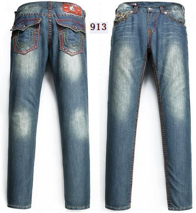 Wholesale True Religion jeans men jeans fashion pants TR trousers women jeans 14