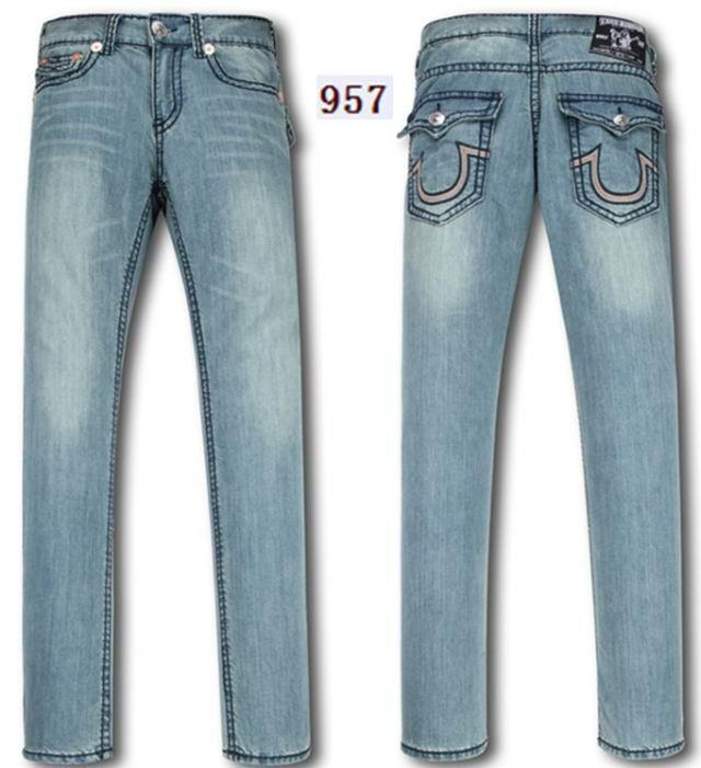 Wholesale True Religion jeans men jeans fashion pants TR trousers women jeans 19