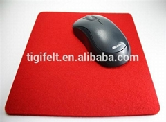 beautiful felt mouse mat