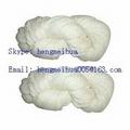 Acrylic Yarn Raw White or Dyed in