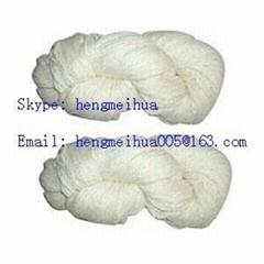 Acrylic Yarn Raw White or Dyed in Hanks or Bobbins